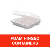 Foam Hinged Containers