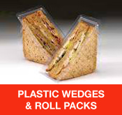 Plastic Wedges and Roll Packs