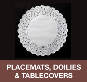 Placemats, Doilies and Table covers
