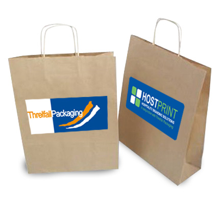 Custom Printed Retail Paper Bags